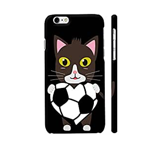 Colorpur Cat With Football Designer Mobile Phone Case Back Cover For Apple iPhone 6 / 6s | Artist: Torben