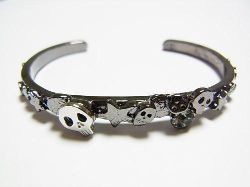 (Kaza) KAZA Jack skull Bangle black skull accessories