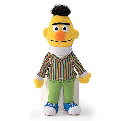 "Enesco Sesame Street 7"" Bert Beanbag Gund Plush - 1"