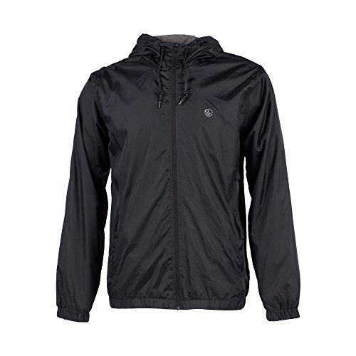 Volcom Men's Ermont Jacket, Black, X-Large