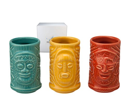 Disney Parks Enchanted Tiki Room Shot Glass 3 pc. Set - Limited Availability