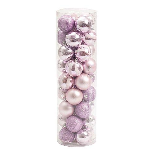 36-pezzo-assortiti-albero-di-natale-palla-60mm-bagattelle-rosa