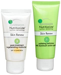 Garnier Nutritioniste Regenerating Micro-Polish Kit Body Gels And Creams
