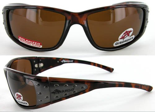 Anarchy Tortoise Disorder Sunglasses Polarized