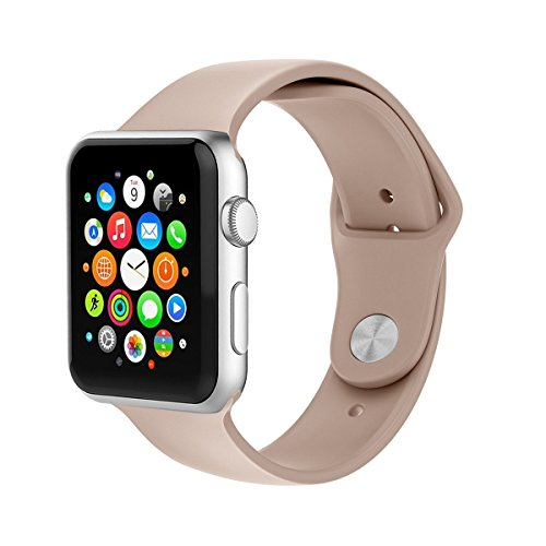 Per Apple Watch, morbido Silicone sostituzione Sport Band per Apple Watch