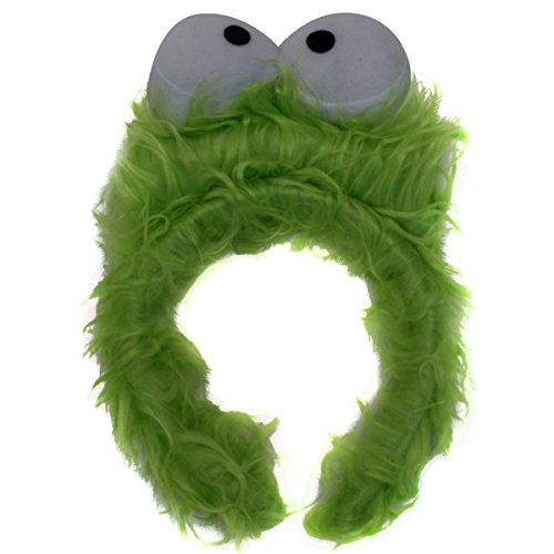 Kids Green Monster Furry Costume Headband