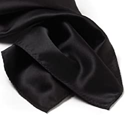 Pocket Square Silk - Black
