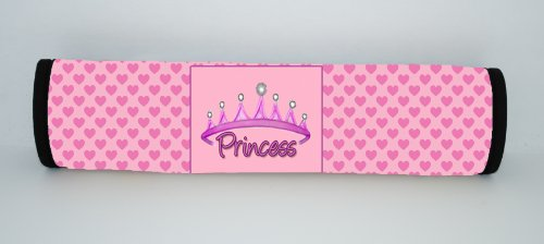 Kidzies Protector Pal, Seat Belt Strap Cover, Princess Design front-670273