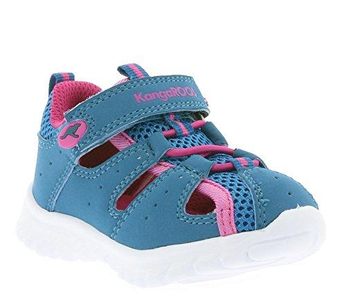 KangaROOS Rock Lite Bambini Sandali Verde 0130A 29 863, Kinder - Schuhe / 57929:21