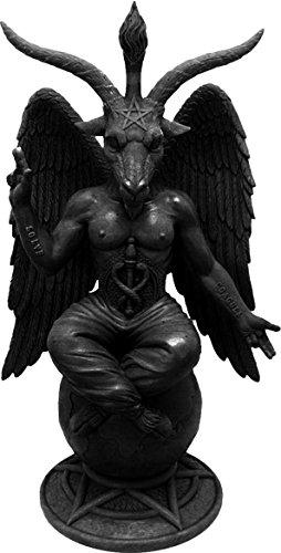 Baphomet antichità-Statuetta della capra Satanic Demon Occult Statua ornamentale Pagan Mendes