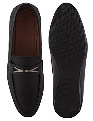 ALESTINO Leather Look Casual Loafers