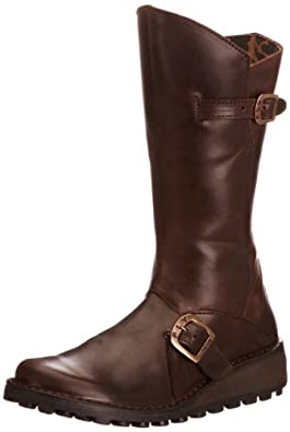 Fly London Women's Mes Dark Brown Boot P210315059 3 UK