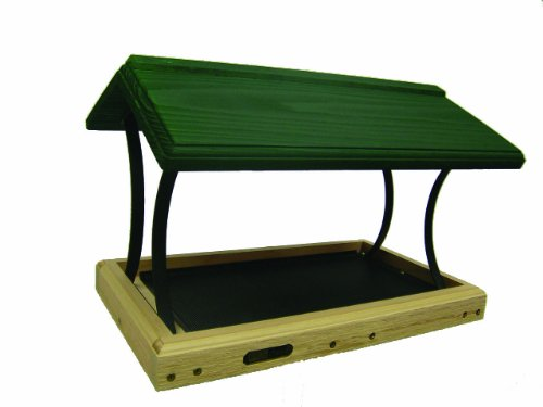 Birds Choice 17x12 Fly-Through Platform with Green Roof