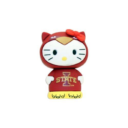 4GB USB Flash Drive - Hello Kitty + Iowa State Cyclones