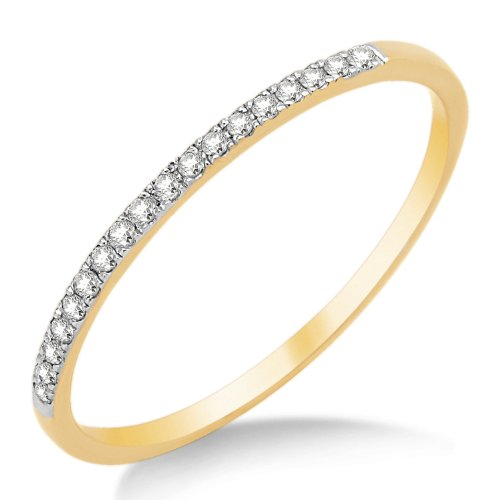 Eternity Ring, 9ct Yellow Gold, Diamond Eternity