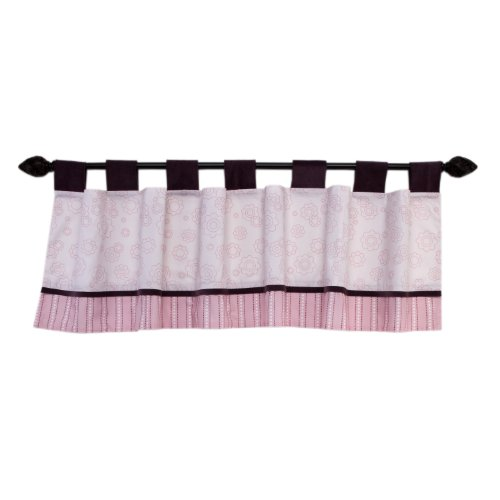 Disney Dandelion Dreamer Window Valance, Mulberry/Pink (Discontinued by Manufacturer)