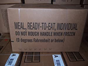 Military MRE MEALS READY TO EAT 2 2015 Case A by MRE