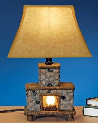 price 2015 hand painted ceramic fireplace table lamp sale macys. Black Bedroom Furniture Sets. Home Design Ideas