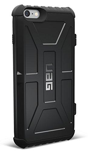 【日本正規代理店品】URBAN ARMOR GEAR iPhone 6s Plus/6 Plus (5.5インチ)用カード収納ケース ブラック フラストレーションフリーパッケージ(FFP) UAG-FIPH6SPLN-BLK