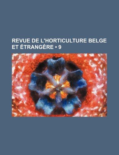 Revue de L'horticulture Belge et Étrangère (9)