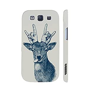 Samsung Galaxy S3 Neo Deer Funk designer mobile hard shell case by Enthopia
