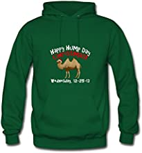 Hump Day Funny Christmas Camel Print And Let You Handle It Creative Women Navy Hoody