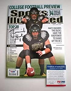 Jeremiah Masoli Signed Sports Illustrated Oregon Ducks Wings Jersey - PSA DNA... by Sports+Memorabilia