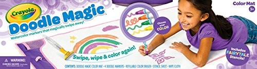 crayola-doodle-magic-colour-mat-purple-childrens-drawing-toy-with-accessories