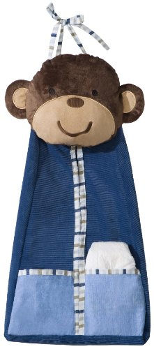 Carter'S Diaper Stacker, Monkey Rockstar