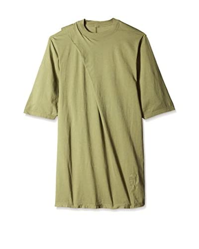 Rick Owens DRKSHDW Men's Short Sleeve Hiked T-Shirt