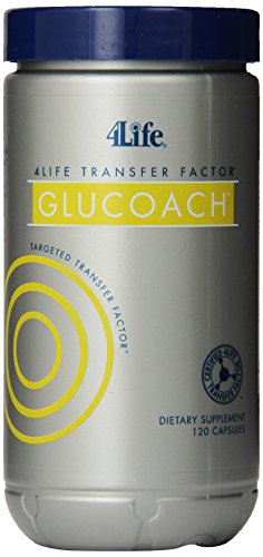 4Life Transfer Factor Glucoach By 4Life - 120 Ct/Bottle [Health And Beauty] front-615159