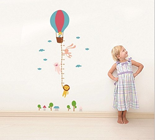 Home Wall Decor Decals Poster House Wall Stickers Quotes Removable Vinyl Large Wall Sticker For Kids Rooms Stickers Hot Air Balloon W-509 front-765737