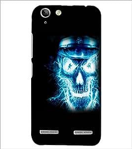 PrintDhaba Digital Skull D-2305 Back Case Cover for LENOVO VIBE K5 PLUS (Multi-Coloured)