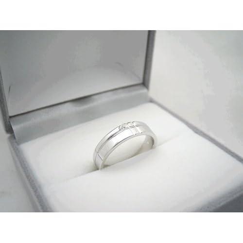 LOVEダイヤモンド マリッジリング / 4mmタイプ / プラチナタイプ/13号