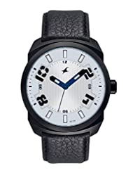 Fastrack Analogue White Dial Men Watch - (9463AL01)