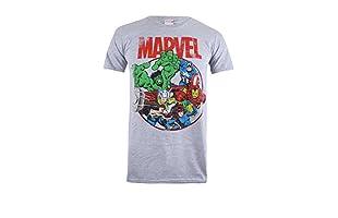 MARVEL Camiseta Manga Corta Marvel Sphere (Gris)