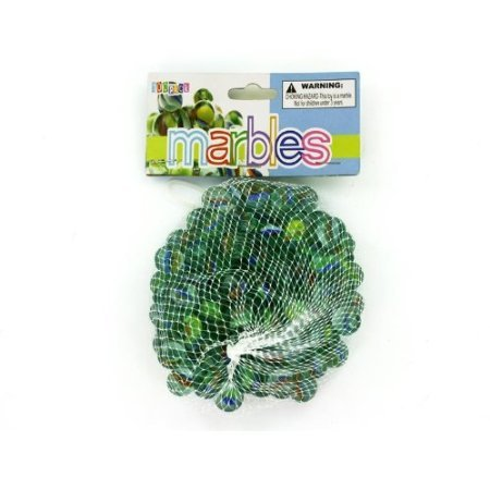 Kole Imports Glass Marbles, Medium