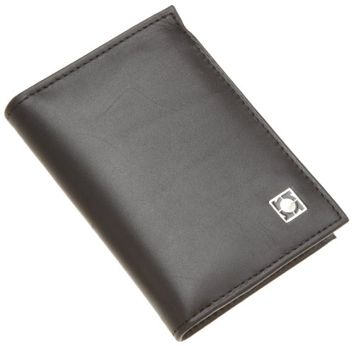 Kenneth Cole REACTION Men's Flip-Up Wallet,Black,One Size