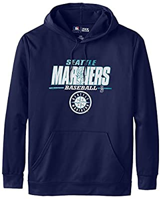 MLB Seattle Mariners Men's SA2 Fleece Hoodie