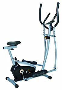 V-fit KPCE-12/1 Combination 2-in-1 Magnetic Cycle-Elliptical Trainer