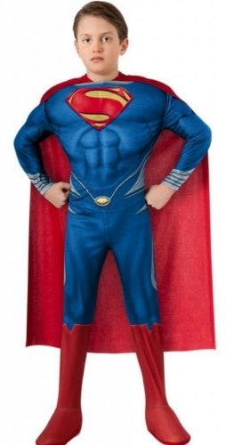 Costumes for all Occasions RU889891LG Superman Child Deluxe Large