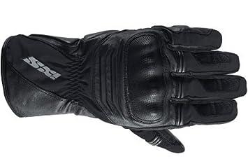 IXS Preston Gants de moto en cuir Gant de moto Noir J & S