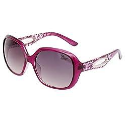 Bling Black Gradient Butterfly Sunglasses for Women (BS1002 008)