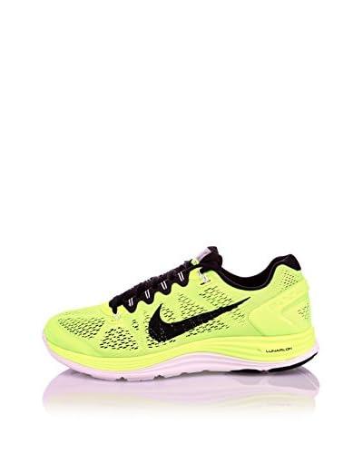 Nike Scarpa Sportiva Lunarglide+ 5 [Giallo/Nero]