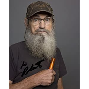 SI ROBERTSON SIGNED PHOTO 8X10 RP DUCK DYNASTY !!