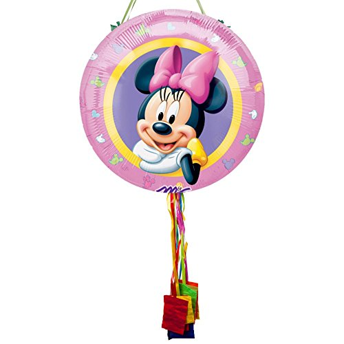 Minnie Mouse Pull String Pinata - 1