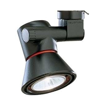Lytespot Low Profile Universal Finish Black Track Lighting Heads