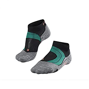 FALKE Damen Running-Socken RU4 Cu Sh 16817 35-36 Black Mix