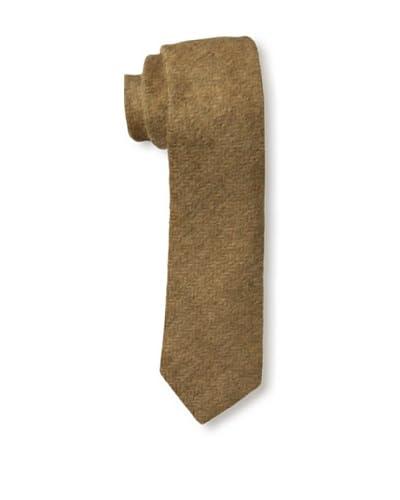 Gitman Men's Herringbone Tie, Brown
