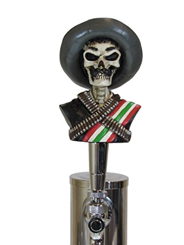 Zapata Sports Bar Beer Tap Handle Kegerator Resin Zombie Breweriana Bar (Cool Beer Tap compare prices)